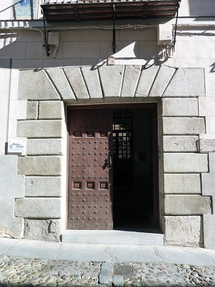 Portada Sixto Ramón Parro 9. Arco adintelado